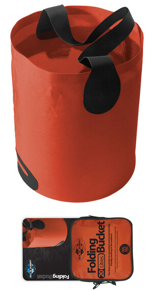 Sea to Summit Folding Bucket 10L Orange